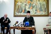 Митрополит Бориспольский Антоний: Приезд Константинопольского Патриарха может спровоцировать новый виток давления на Украинскую Православную Церковь