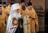 Патріарше привітання митрополиту Новгородському Льву з 75-річчям від дня народження