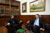 Председатель ОВЦС встретился с послом Евросоюза в Москве