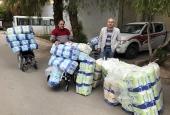 Представитель Патриарха Московского и всея Руси при Антиохийском Патриаршем престоле передал в дар средства реабилитации для детей Сирии
