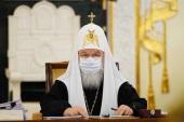 Слово Святейшего Патриарха Кирилла на заседании Священного Синода 13 апреля 2021 года