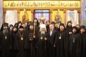 Блаженнейший митрополит Киевский Онуфрий совершил монашеский постриг в Спасо-Преображенском Нещеровском монастыре Киевской области