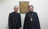 Епископ Аргентинский и Южноамериканский Леонид встретился с кардиналом Буэнос-Айреса
