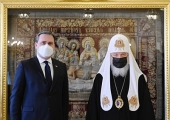 Состоялась встреча Святейшего Патриарха Кирилла с министром иностранных дел Сербии