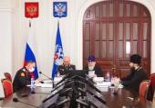 Председатель Синодального комитета по взаимодействию с казачеством провел совещание с войсковыми священниками и атаманами казачьих войск России