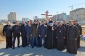 В столице Казахстана заложен храм в честь благоверного великого князя Александра Невского
