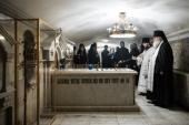 В Троице-Сергиевой лавре почтили память Святейшего Патриарха Алексия I