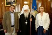 Глава Среднеазиатского митрополичьего округа встретился с новоназначенным послом России в Узбекистане
