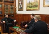 Председатель Отдела внешних церковных связей встретился с руководством российских адвентистов