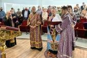 Патриарший экзарх всея Беларуси посетил 10-ю подстанцию скорой медицинской помощи в Минске