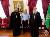 Представитель Управления древностей Израиля посетил Русскую духовную миссию в Иерусалиме