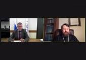 Митрополит Волоколамский Иларион выступил на кафедре теологии МИФИ с открытой лекцией «Христианство: как зародилось, во что превратилось»