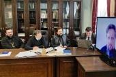 В Минской духовной академии состоялся онлайн-семинар, посвященный вопросам организации образовательного процесса в духовных учебных заведениях Республики Беларусь
