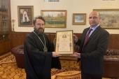Вручена Патриаршая награда за гуманитарные проекты в Сирии