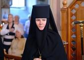Патриаршее поздравление настоятельнице Алексеевского ставропигиального монастыря игумении Ксении (Чернеге) с днем рождения