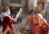 Митрополит Таллинский и всея Эстонии Евгений возглавил Пасхальные богослужения в кафедральном Александро-Невском соборе г. Таллина