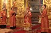 Патриарший наместник Московской митрополии в праздник Пасхи совершил богослужение в Николо-Угрешском ставропигиальном монастыре