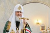Святейший Патриарх Кирилл поздравил Предстоятелей Древних Восточных Церквей, празднующих Пасху по юлианскому календарю