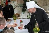 Патриарший экзарх всея Беларуси посетил Логойский дом-интернат для престарелых и инвалидов в Минской области