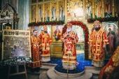 В день памяти Новомучеников и исповедников Коломенских митрополит Крутицкий Павел совершил Литургию в Тихвинском храме подмосковной Коломны