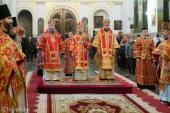 Патриарший экзарх всея Беларуси посетил Успенский Жировичский монастырь