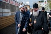 Глава Татарстанской митрополии посетил социальный центр «Приют человека»
