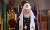 Святейший Патриарх Кирилл поздравил православных верующих Украины с праздником Воскресения Христова