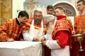 Глава Среднеазиатского митрополичьего округа освятил восстановленный Александро-Невский храм в Ташкенте