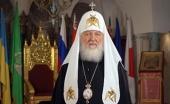 Святейший Патриарх Кирилл и иерархи Поместных Церквей поздравили православных верующих Украины с праздником Воскресения Христова