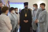 При поддержке Златоустовской епархии открыта соляная комната в детской поликлинике города Сатки