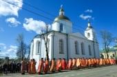 В Полоцке состоялись торжества в честь священномученика Константина Жданова, пресвитера Шарковщинского