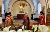 В Иерусалиме отметили престольный праздник первого русского храма на Святой Земле