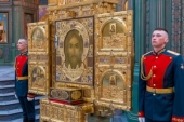 В Главном храме Вооруженных сил РФ совершен торжественный молебен в ознаменование Победы в Великой Отечественной войне