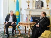 Митрополит Астанайский Александр и посол России в Казахстане обсудили вопросы религиозной жизни в республике