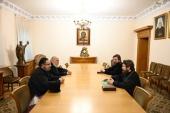 Председатель ОВЦС встретился с иерархом Антиохийской Православной Церкви