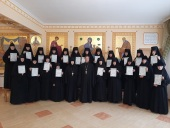 В Пятигорской епархии состоялся первый выпуск богословских курсов для монашествующих
