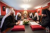 В Киеве проходит первое в 2021 году заседание Синода Украинской Православной Церкви