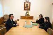 Председатель Отдела внешних церковных связей встретился с послом Российской Федерации в Черногории