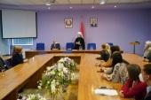 Митрополит Минский Вениамин посетил Белорусскую медицинскую академию последипломного образования