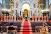 Слово Святейшего Патриарха Кирилла в Неделю 3-ю по Пасхе после Литургии в Храме Христа Спасителя