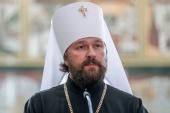Президент России наградил митрополита Волоколамского Илариона орденом Александра Невского