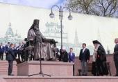 В подмосковном Волоколамске состоялось открытие памятника митрополиту Питириму (Нечаеву)