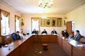 В ОВЦС в рамках XXIX Международных образовательных чтений состоялся круглый стол, посвященный христианским святыням на Ближнем Востоке