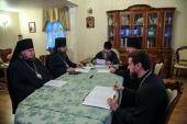 Состоялось экспертное совещание по вопросам подготовки Положения о монашеских постригах, совершаемых в духовных учебных заведениях