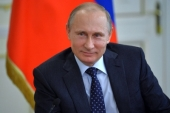 Поздравление Президента России В.В. Путина Святейшему Патриарху Кириллу с днем тезоименитства