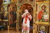 В день памяти равноапостольных Мефодия и Кирилла Святейший Патриарх Кирилл совершил Божественную литургию