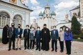Председатель Национального собрания Республики Корея посетил Троице-Сергиеву лавру