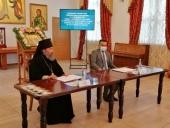 Архиепископ Элистинский Юстиниан передал в дар исправительным учреждениям Калмыкии электронную видеотеку с лучшими кинофильмами