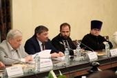 Сотрудник Синодального комитета по взаимодействию с казачеством принял участие в круглом столе, посвященном проблемам исполнения законов в отношении казачества