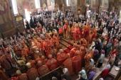 Праздничным соборным богослужением десяти архиереев отметили в Черкассах день памяти преподобномученика Макария Каневского